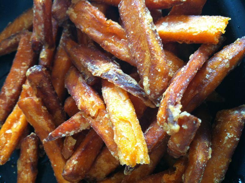 Restaurant sweet potato fries