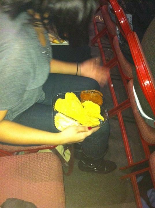Concert food?